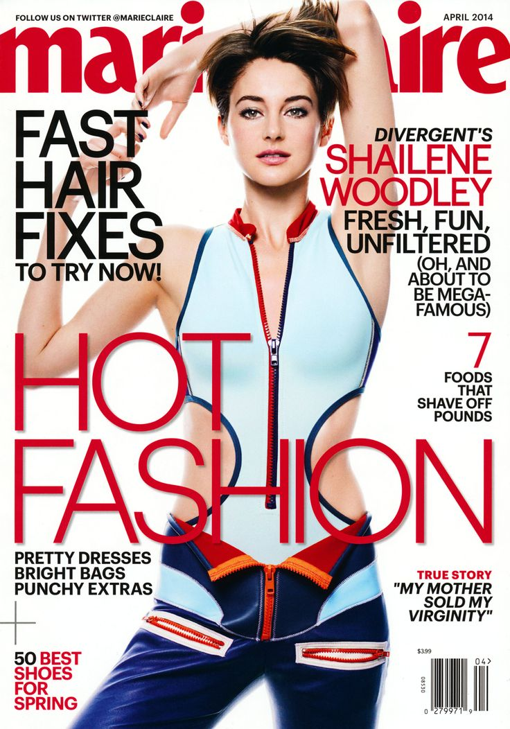 Shailene Woodley Marie Claire (US) April, 2014