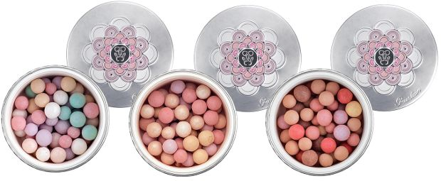 guerlain meteorites blossom spring 2014 collection, meteorites pearls in clair, medium and doré