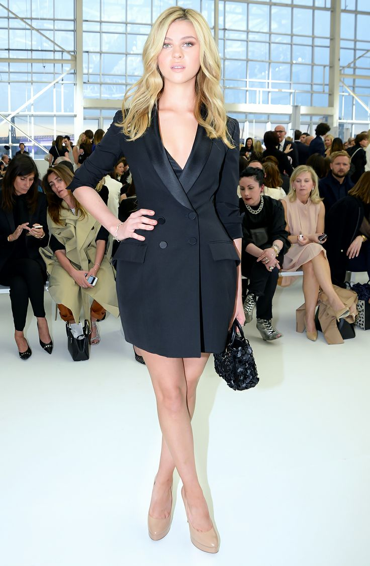 Nicola Peltz in Dior. Oh, my.