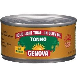 Genova Tonno Light Tuna in Olive Oil FODMAP Foods