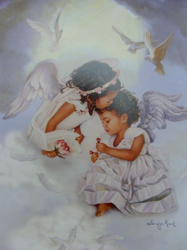 Image result for black angel baby
