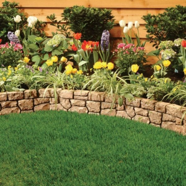 stone wall border landscape edging landscape pinterest on border wall id=65841