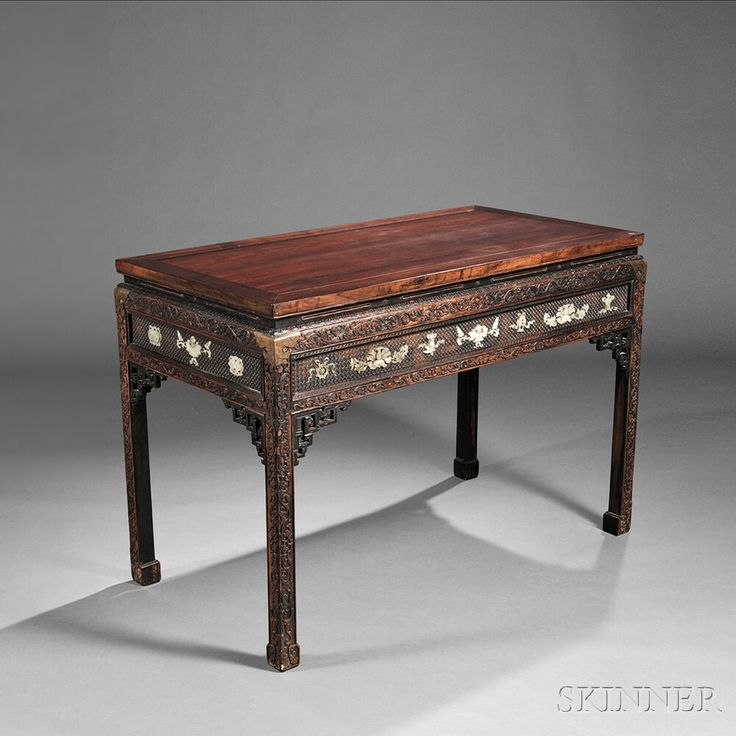 Hongmu Altar Table, China, Qing dynasty