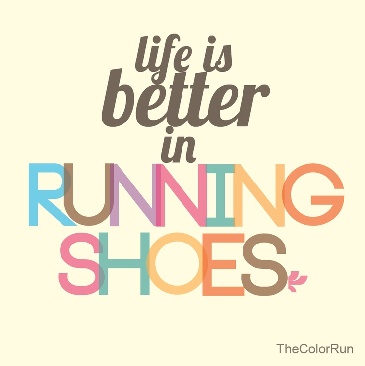 Life is better in running shoes. #clemarathon