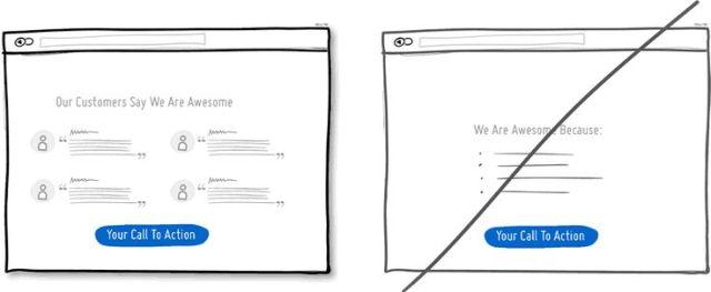 電子商務網站介面_利用社群的力量來幫助你說服客戶