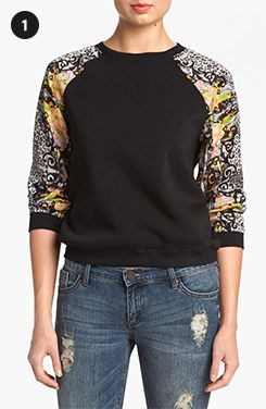 Nordstrom Roundup: Mixed Media Tops