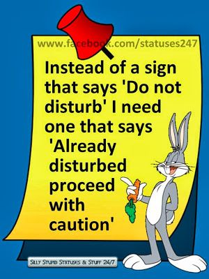 Yes! Ha, gotta love that smart-ass bunny wabbit!