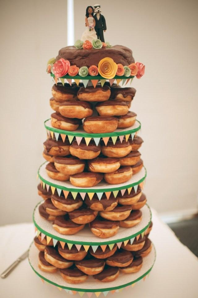 Donut tower wedding ideas pinterest