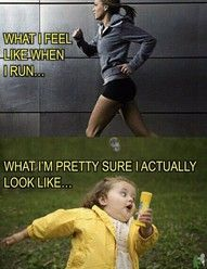 Running - THIS IS SO ME!!! (sadly)