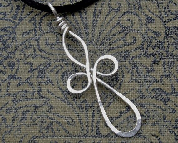 wrapped wire cross