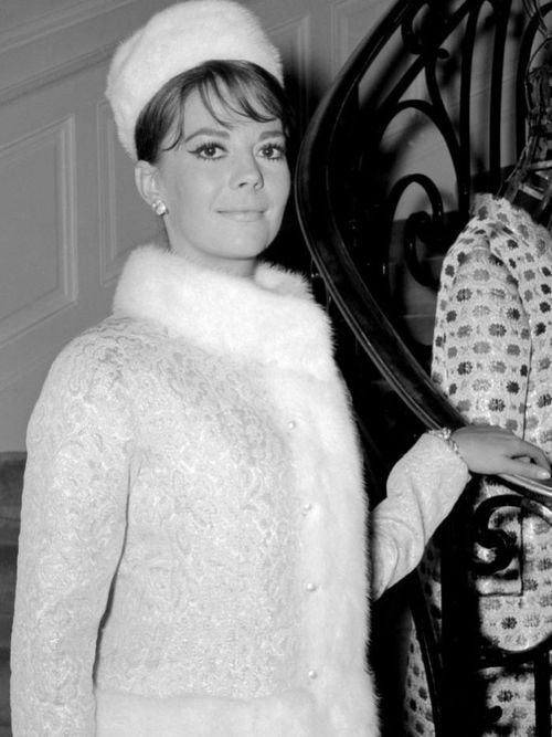 Natalie Wood in Yves Saint Laurent