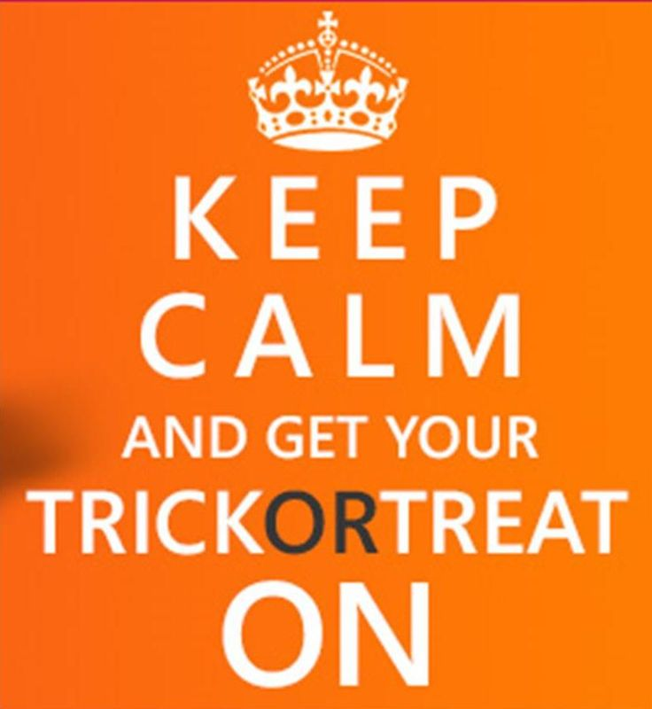 Image result for halloween trick  and treat quotes
