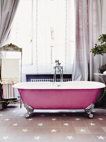 Elegir bañeras con patas