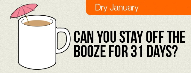 Dry January - can you give up booze for 31 days?