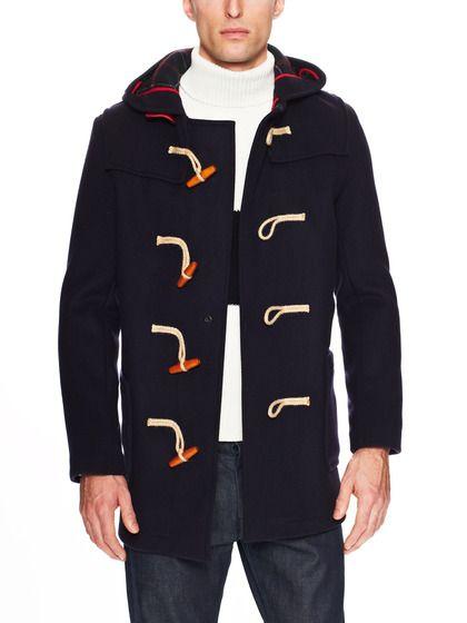 duffle coat pour homme tendance