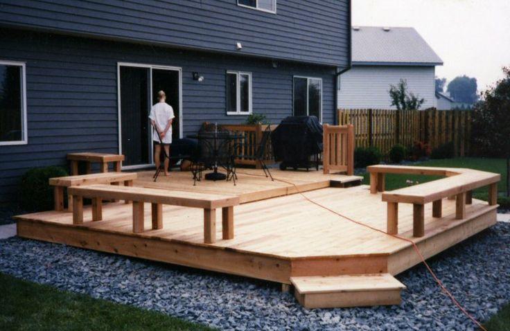 Deck Designs For Small Yards | Joy Studio Design Gallery ... on Small Yard Deck id=75200