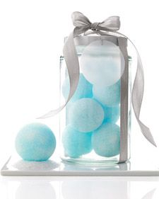 How to make Bath Snowballs~ Great holiday gift idea!