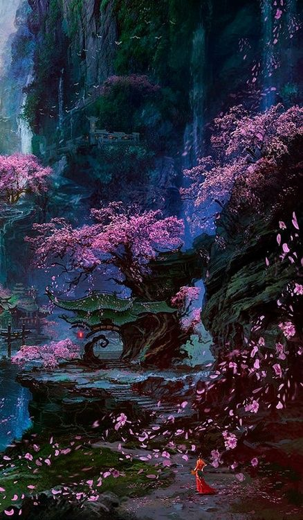 The Cherry Blossom Temple, where the true masters teach.