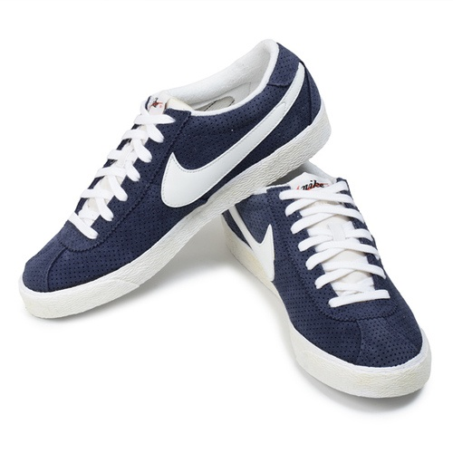 CHAUSSURES / SHOES NIKE BRUIN VINTAGE MARINE / BLANC