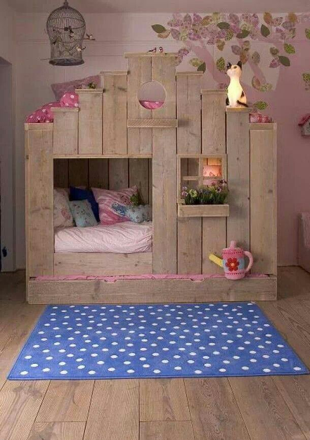My baby girl needs a bed like this