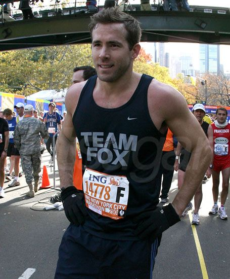 I think I could chase him for 26.2 miles easily....