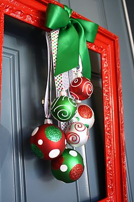 navidad en la puerta