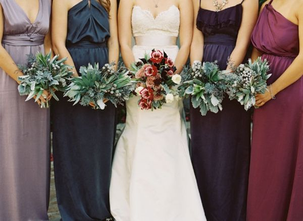 BRIDESMAID TRENDS Berry & Jewel Tone Bridesmaid Dresses | SouthBound Bride