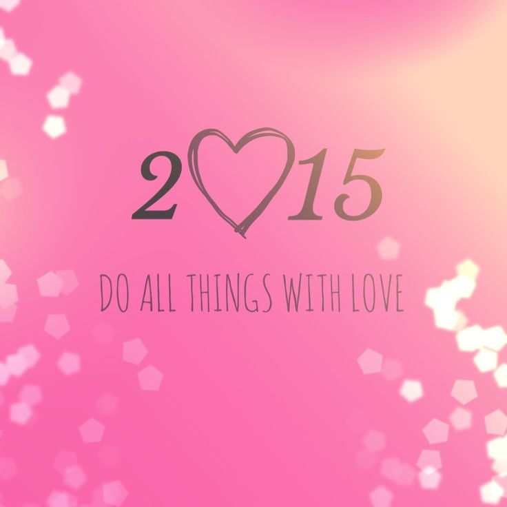 This year will be different this year will be made with Love and everything will be fascinating