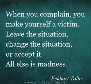 Why Complaining Is Holding You Back & How To Stop -> Examine, reflect and be aware. And stay positive.