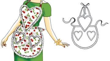 Sweet Nothings Retro Apron Download