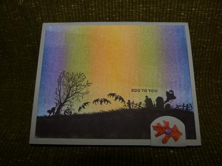 HALLOWEEN Card 2012 Make Me Some CARDS Pinterest