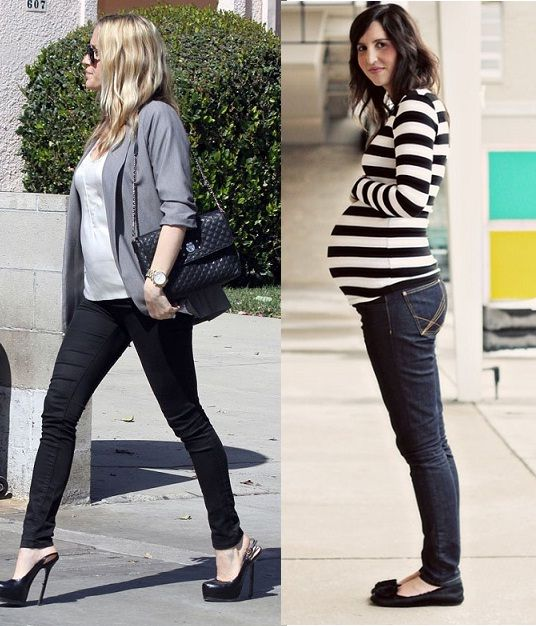 Time for Fashion » Looks de street style para embarazadas II – Pregnancy street style looks