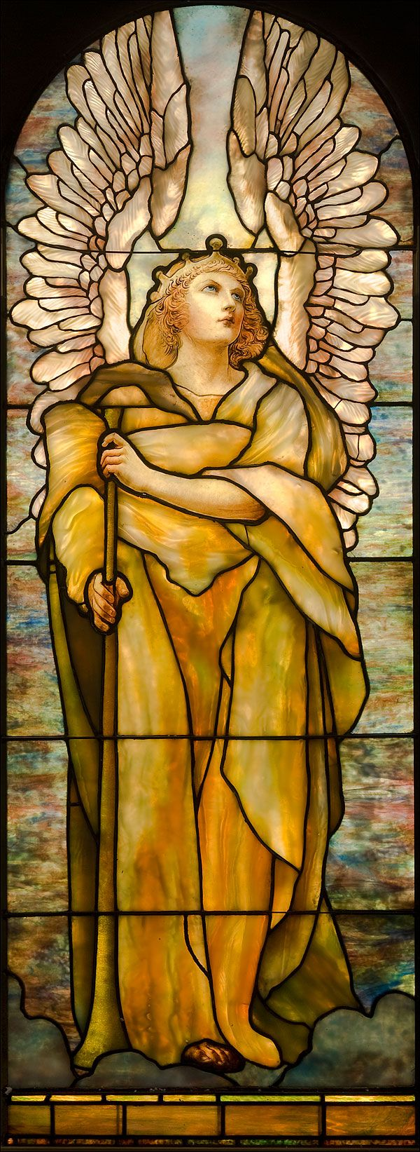 'Angel of the Resurrection' by Louis C. Tiffany (1848-1933) - Collection of the Montreal Museum of Fine Arts.
