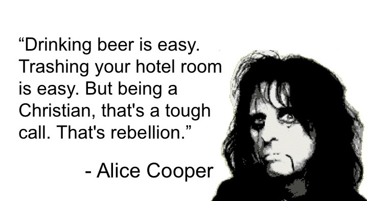 Image result for alice cooper christian