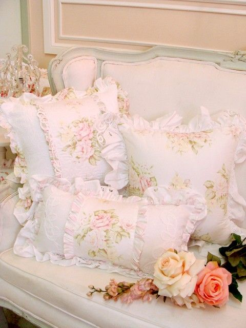 Pretty pillows...
