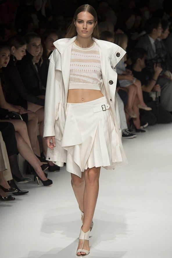 Spring/Summer 2014 Fashion Week Highlights – Top Trends (Glamour.com UK) Salvatore Ferragamo