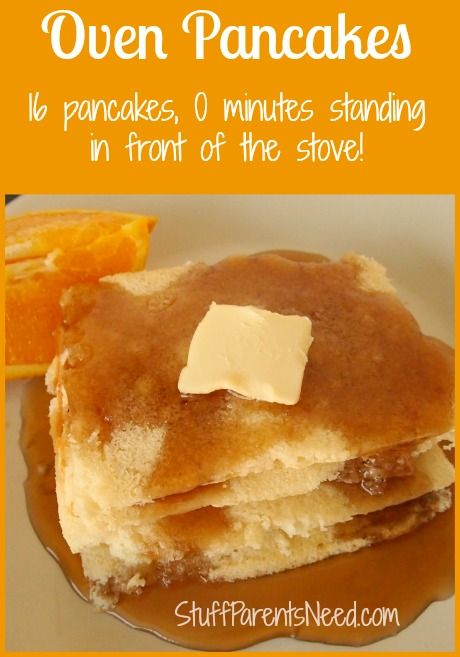 This is how I make 16 pancakes, all done at the same time, and spend NO time in the kitchen cooking them! :-) Shortcuts are awesome!