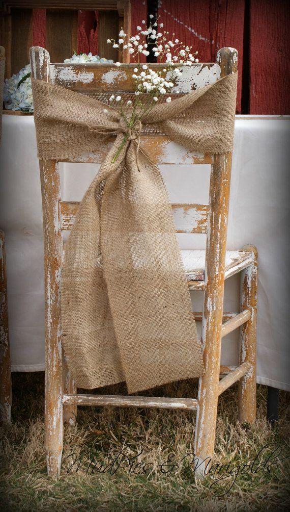 Decora tu boda con arpillera mi boda diy for Sillas para quinceaneras decoradas