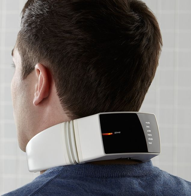 Neck Massager with Wireless Remote Control- wellness gadget