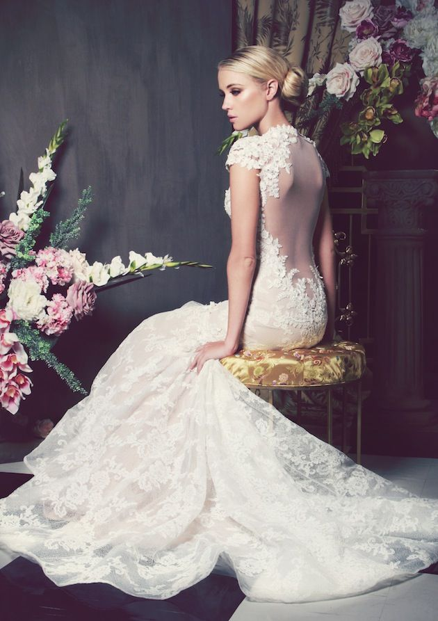 anna georgina wedding dress collection 2014