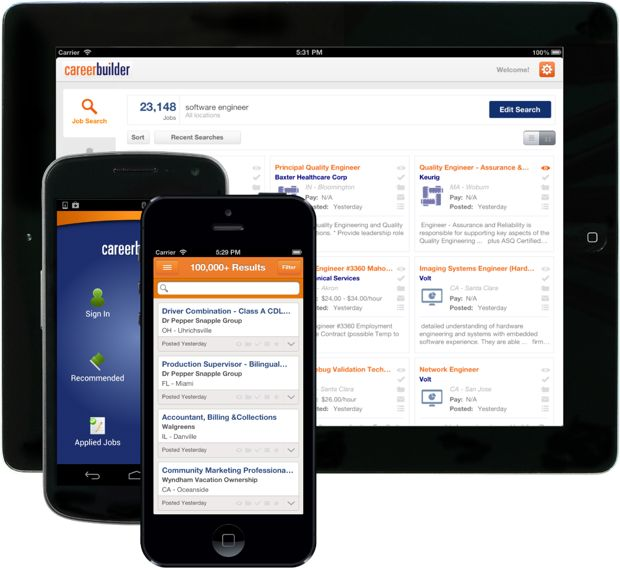 CareerBuilder App for iPhone