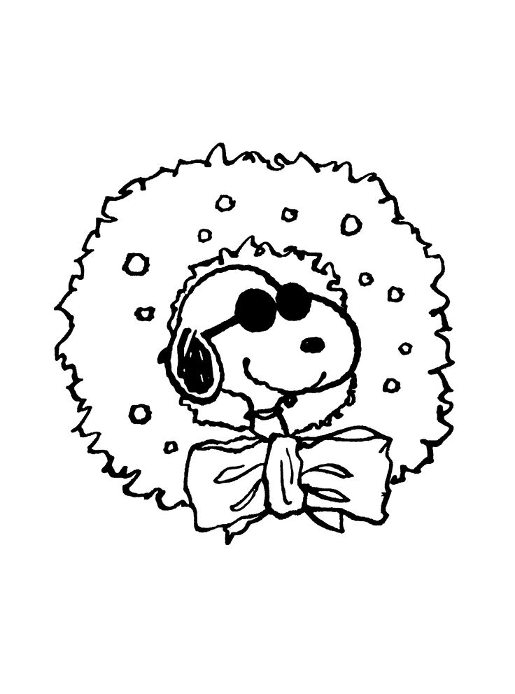 snoopy xmas  drawing  pinterest