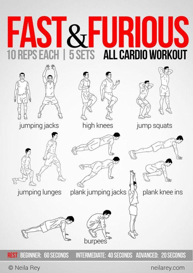 Cardio Workout Gym Program Viewyoga Co