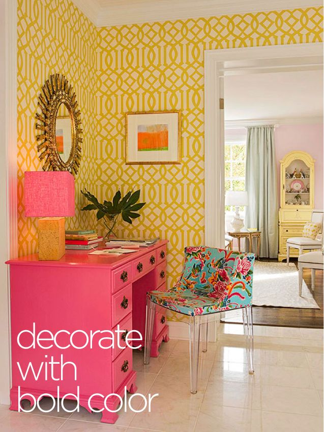 decorating with bold color office spaces pinterest on pinterest office colors id=19120
