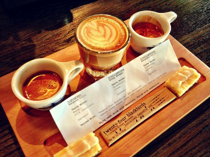Another style shot of our Lino espresso cups from Barista Parlor Coffee Shop