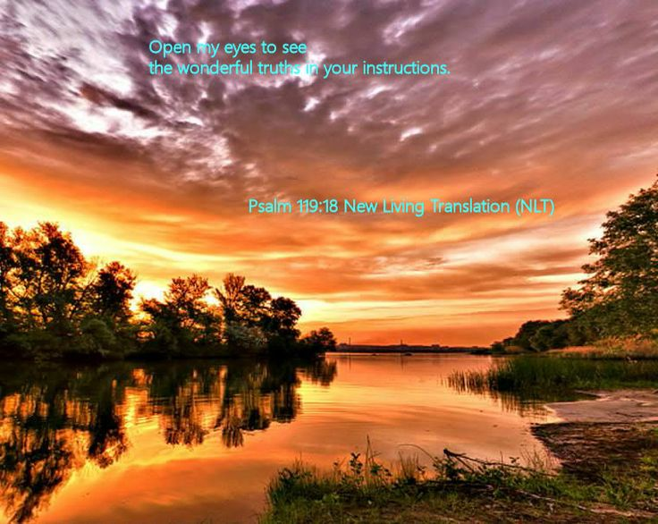 Psalm 119.18 New Living Translation (NLT)