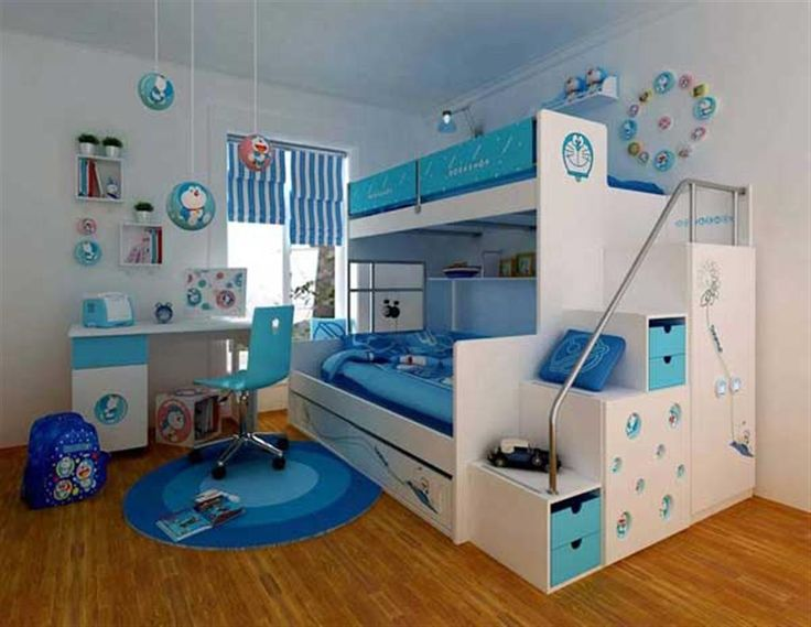 Doraemon Style Bedroom