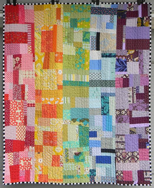 Gypsy Living Traveling In Style| Serafini Amelia| Gypsy Quilt-Colorful Rainbow Quilt|
