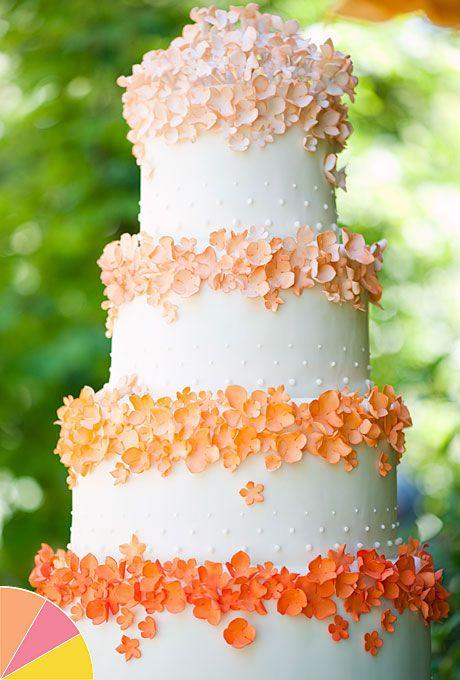 Brides.com: . Cake by Superfine Bakery
