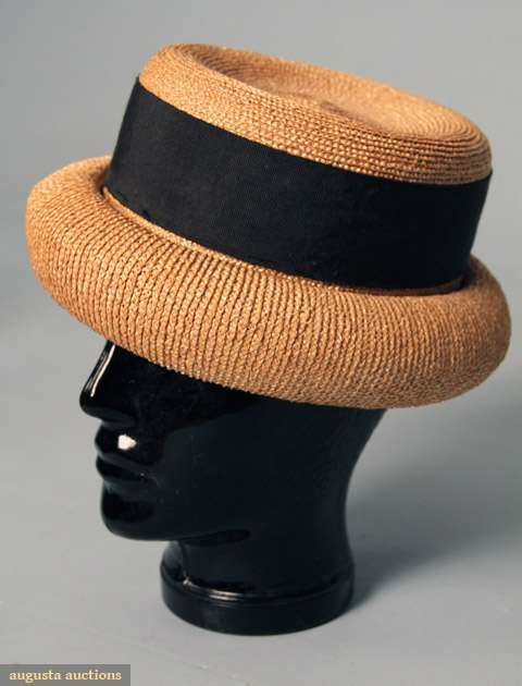 Chanel, Summer Straw Hat, 1960s.